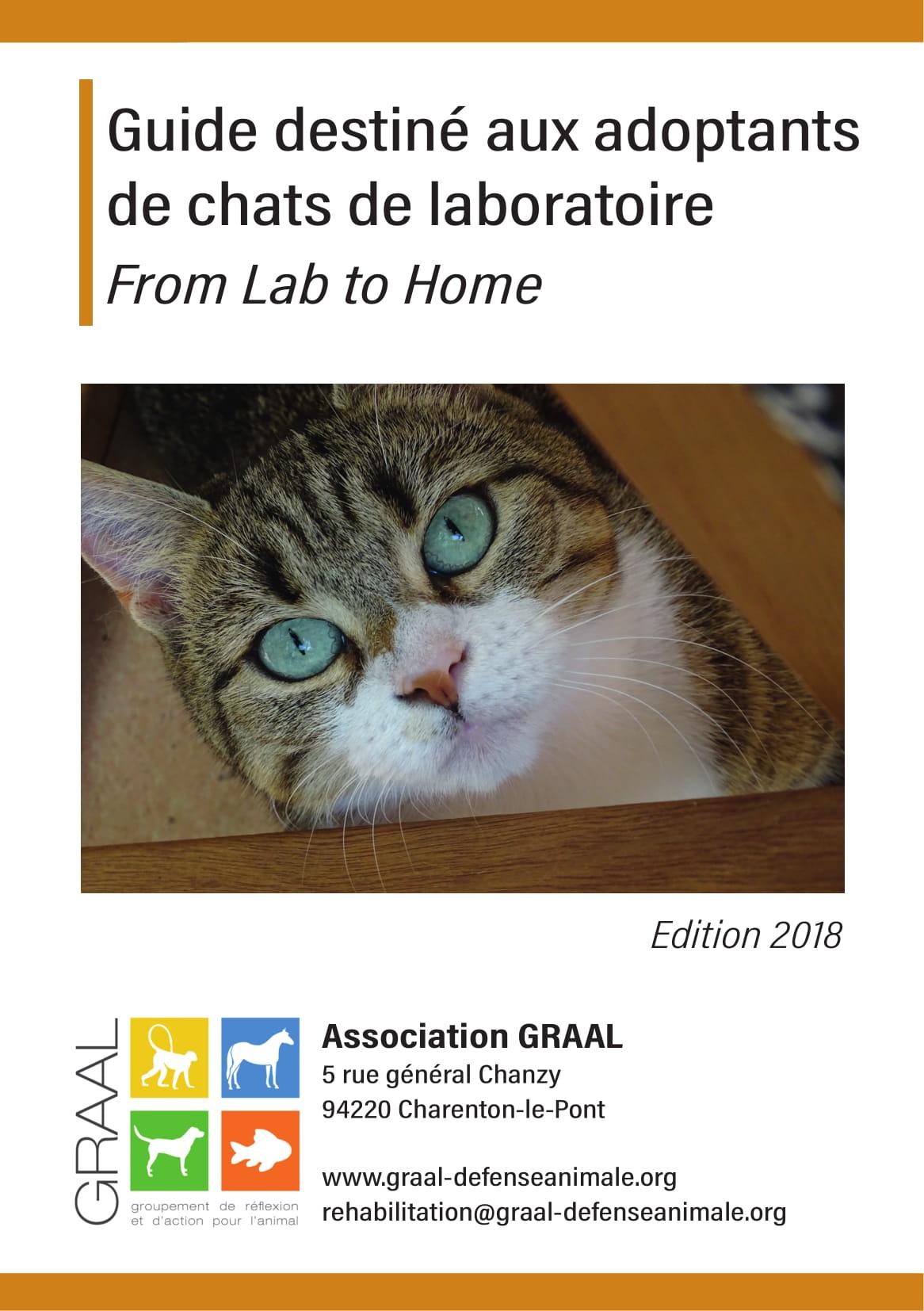 Guide pour les adoptants de chats de laboratoire